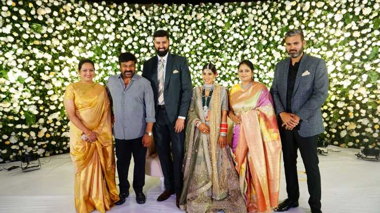 Jayasudha kapoor's Elder Son Wedding Reception
