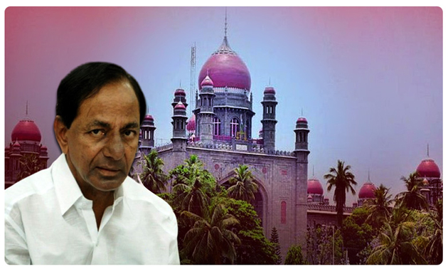 KCR gets numerous shocks from High Court