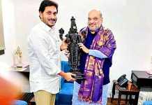 YS Jagan and Amit Shah