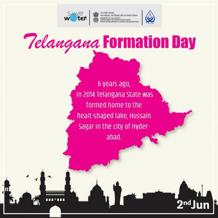 6 Years of Telangana formation Day