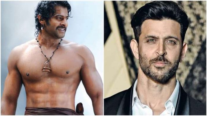 Prabhas to show his power with Hrithik Roshan