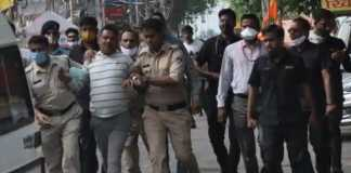 Most wanted Vikas Dubey arrested by Ujjain police