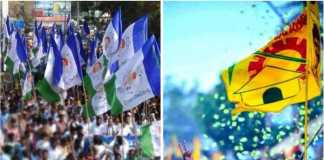 YSRCP and TDP Flags