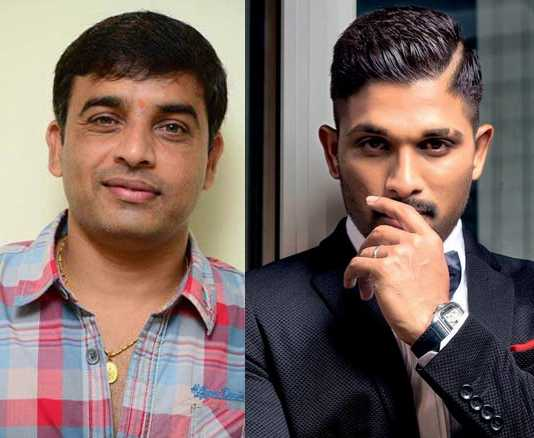 Allu Arjun's other project with Dil Raju Shelved as of now?