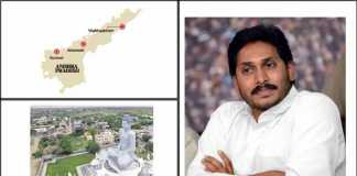 YS Jagan and Three Capitals