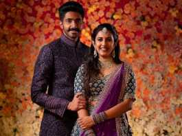 Niharika Konidela and Chaitanya Jonnalagadda Engagement (1)