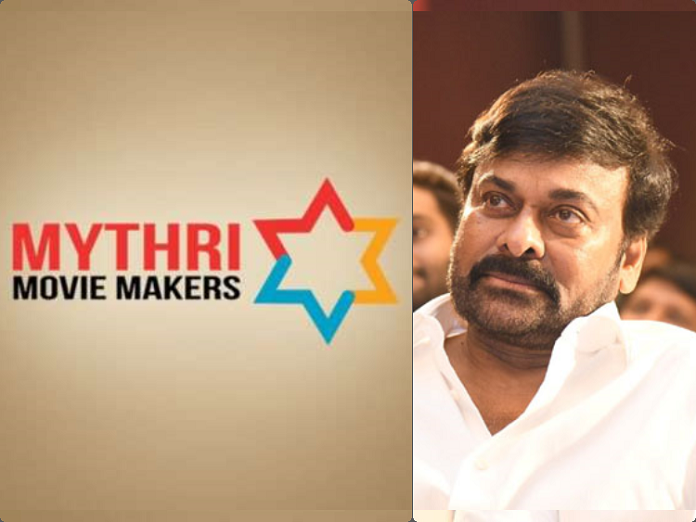 Mythri Movie Makers planning big to make a film with Chiru