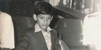 Super star mahesh babu childhood pic goes viral