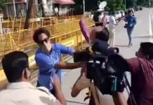 journalist assaulted by fellow journalists