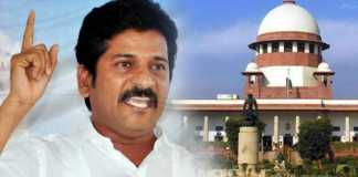 Revanth Reddy filed petition on Supreme court