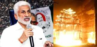 Vijayasaireddy reveals main head behind Antarvedi chariot fire accident