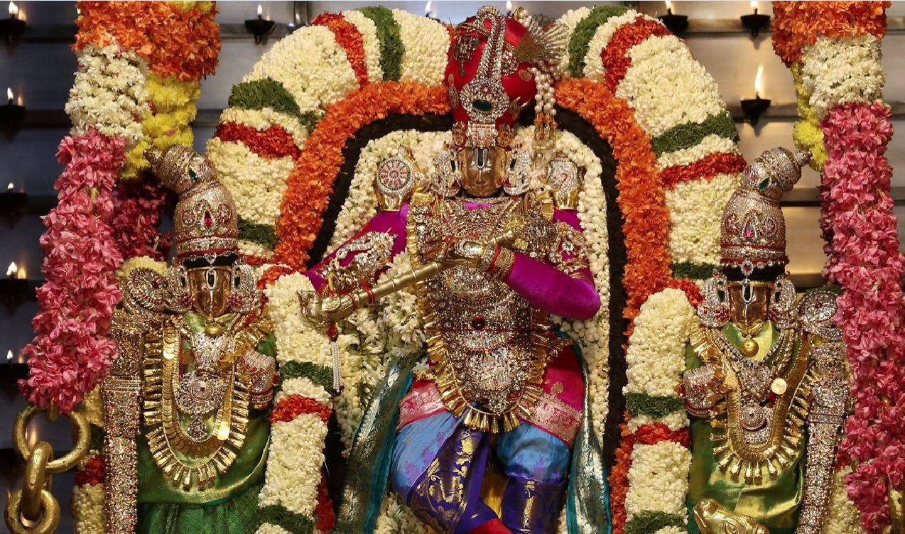 The 4 Th Day Vehicle Service For Srivari Brahmotsavalu In 2020 Th Year,