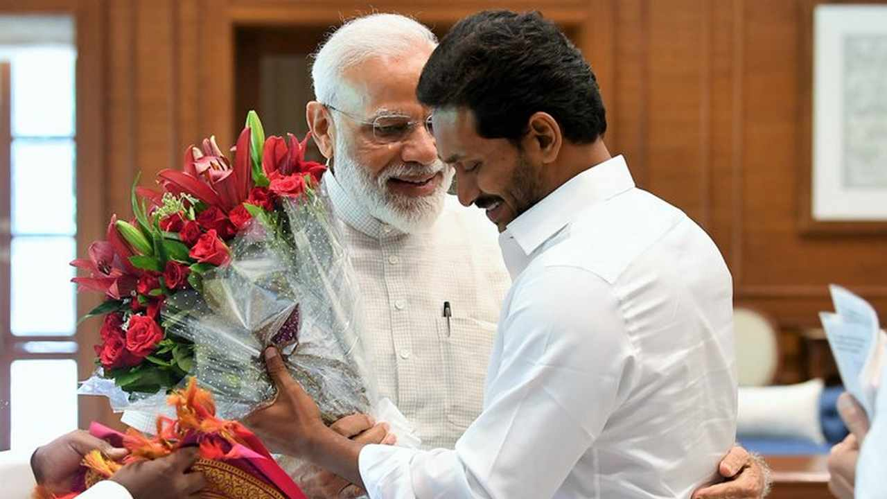 Bjp Trying To Hold Ys Jagan