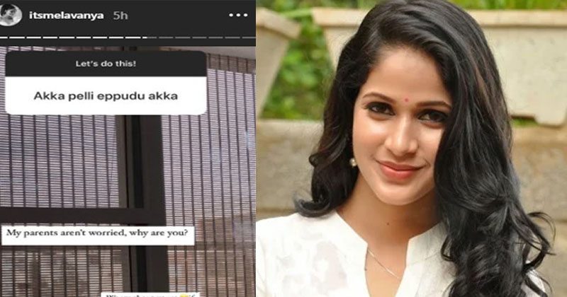 Netizens Asking About Lavanya Tripathi marriage