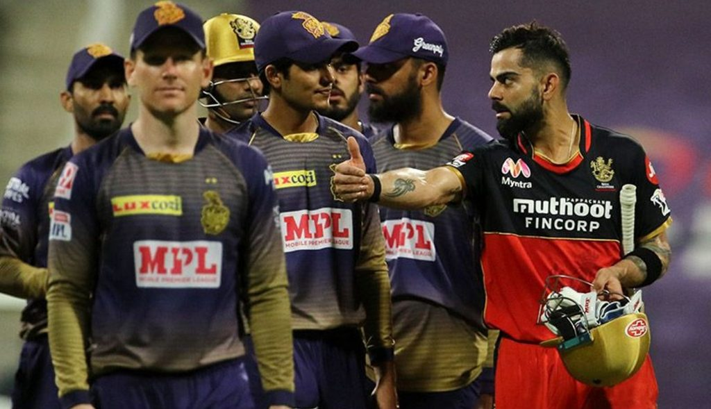 Royal Challengers Bangalore defeat Kolkata Knight Riders by 8 wickets