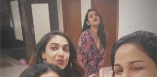 Niharika Ritu Varma And Lavanya Tripathi Enjoys In Party