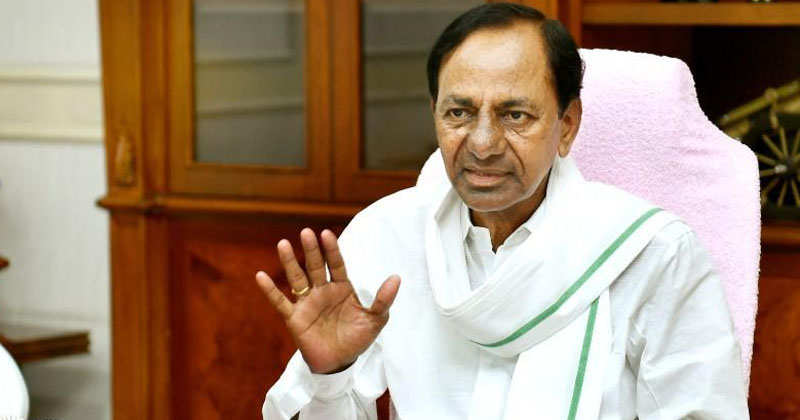 KCR covering words on Dubbaka by polls