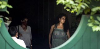 bollywood actress kangana ranaut arrives hyderabad