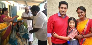 Karthika Deepam Fame Baby Krithika Gets Felicitated By Old Age Home