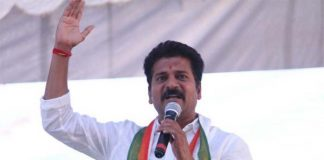 revanth reddy fires on trs govt over pending railway projects