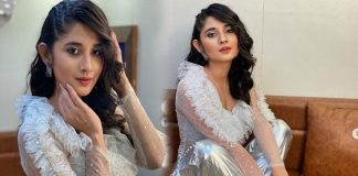 Kani kaMann White Dress Photos