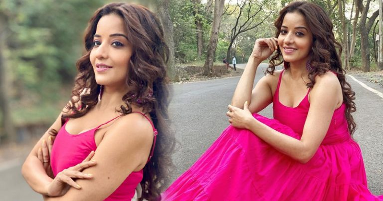 Monalisa pink Dress Pictures