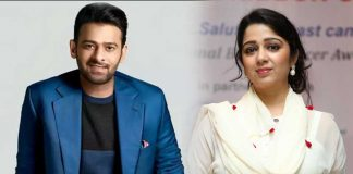 Charmy Kaur Shared Prabhas Pic With Her Pet