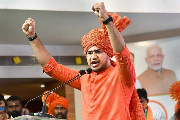 Bengaluru Mp Tejasvi Surya Slams On Telangana Cm Kcr