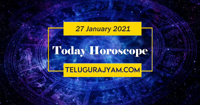Today January 27Th  2021 Daily Horoscope In Telugu