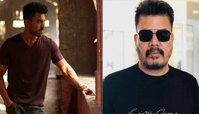 Shankar Planning To Made Charan Movie As Pan India Project
