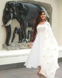 Actress Amritha Aiyer Latest Insta Pics 10 | Telugu Rajyam