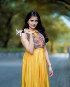 Actress Amritha Aiyer Latest Insta Pics 7 | Telugu Rajyam