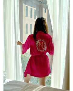 Neha Malik Red Dress Stills 19   Telugu Rajyam