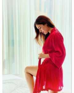Neha Malik Red Dress Stills 20   Telugu Rajyam