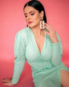 Bollywood Actress Zareen Khan Latest Photo Shoot 8   Telugu Rajyam